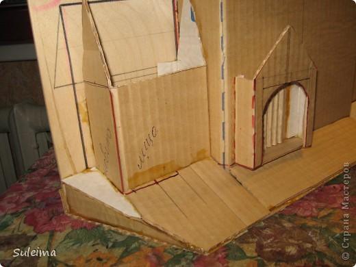 Мастер класс домика из картона