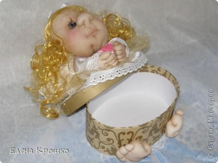 Вот такой ангелочек родился сегодня в подарок хорошему человечку. фото 2