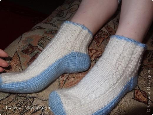 Носочки для снежной зимы!!!   фото 3