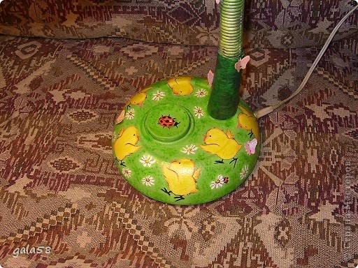Здравствуйте!!!!Вот и лампа для кумы готова. фото 5