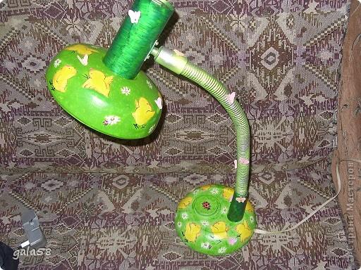 Здравствуйте!!!!Вот и лампа для кумы готова. фото 1
