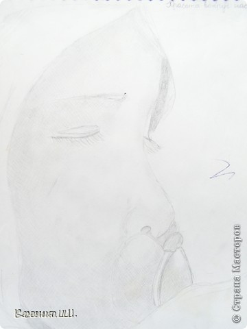 Фантазия. А3. Гелевые ручки. 1 класс фото 3