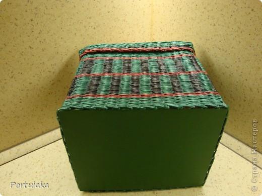 Вот такой получился домик,просто в коробке держать вроде как скучно,ну и вот- наваяла)) фото 4