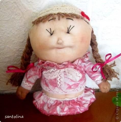 Воодушевленная работой многих мастеров здесь на сайте  у меня получились вот такие пупсы-куколки!Мои первые работы,так что не судите строго )): фото 3