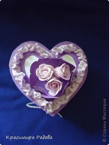 Здравейте на всички в Страната на Майсторите!!! Утре сме поканени на сватба - и ето каква кутийка изработих- в нея ще поставим банкнотите за младоженците. Така е по- красиво и изискано.  фото 7