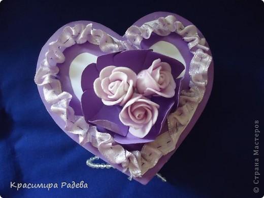 Здравейте на всички в Страната на Майсторите!!! Утре сме поканени на сватба - и ето каква кутийка изработих- в нея ще поставим банкнотите за младоженците. Така е по- красиво и изискано.  фото 8
