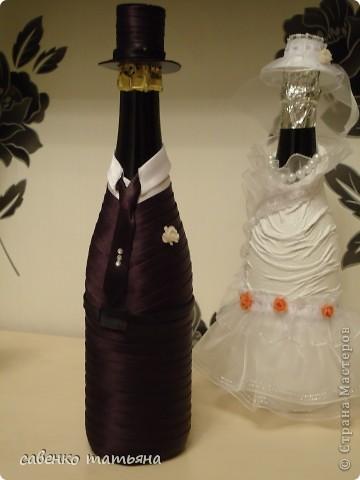 и снова свадьба!Почти все мои клиенты хотят видеть , почему то, именно в  образе жениха и невесты.  фото 3