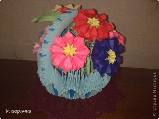 Просто вазочка с цветами. фото 4