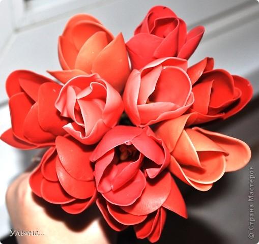 Крокусы из Thai Clay фото 1