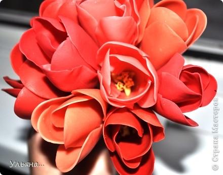 Крокусы из Thai Clay фото 2