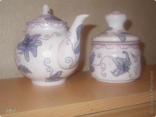 Чайник и сахарница фото 2