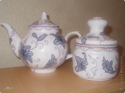 Чайник и сахарница фото 1