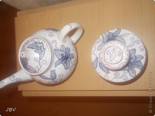 Чайник и сахарница фото 3