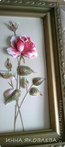 3D  роза из обоев.  фото 8