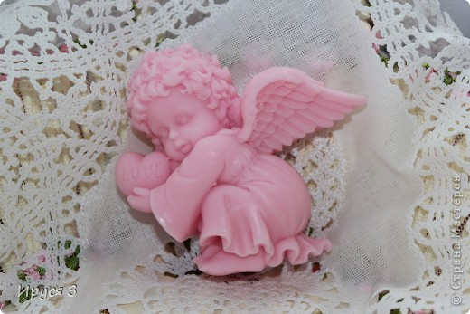 Ангелочка сплела на 14 коклюшках -)))  фото 2