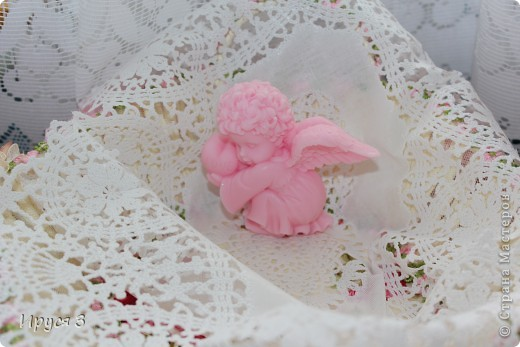 Ангелочка сплела на 14 коклюшках -)))  фото 3