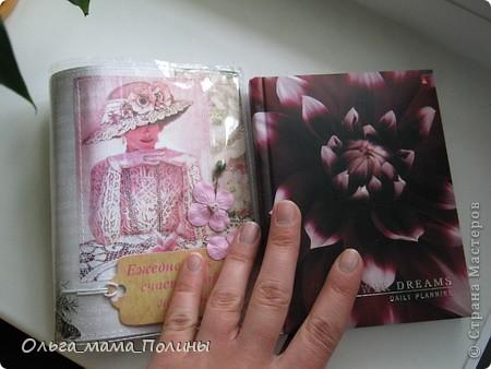Попросили меня слифтить мою же обложку(http://stranamasterov.ru/node/383727) и сделать к ней в пару обложку на ежедневник, получилась не совсем копия, но тоже вроде ничего. фото 4