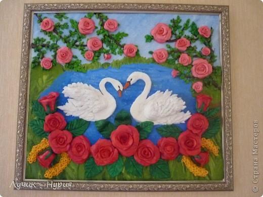 Вот такая картина у меня получилась, по МК  замечательной мастерицы - Тани Вишенки. Ее мастер класс - можно найти здесь: http://stranamasterov.ru/node/64565 фото 11
