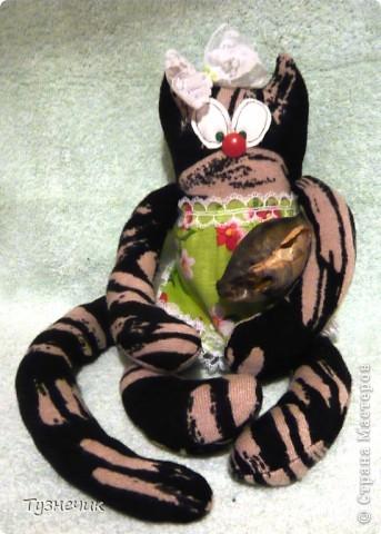Знакомьтесь, это Лукерья, можно просто Луша...Появилась она на свет благодаря Ане (http://stranamasterov.ru/user/159777) и ее Котовасии... фото 8
