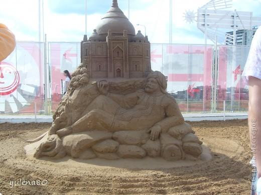 """В июне этого года мы с семьей побывали на фестивале """"Белые ночи"""" в Перми. Предлагаю вашему вниманию серию фотографий с изображением песчаных скульптур. фото 1"""