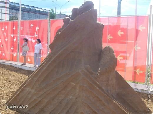 """В июне этого года мы с семьей побывали на фестивале """"Белые ночи"""" в Перми. Предлагаю вашему вниманию серию фотографий с изображением песчаных скульптур. фото 3"""