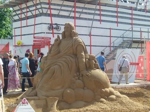 """В июне этого года мы с семьей побывали на фестивале """"Белые ночи"""" в Перми. Предлагаю вашему вниманию серию фотографий с изображением песчаных скульптур. фото 4"""