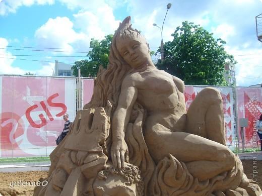 """В июне этого года мы с семьей побывали на фестивале """"Белые ночи"""" в Перми. Предлагаю вашему вниманию серию фотографий с изображением песчаных скульптур. фото 6"""