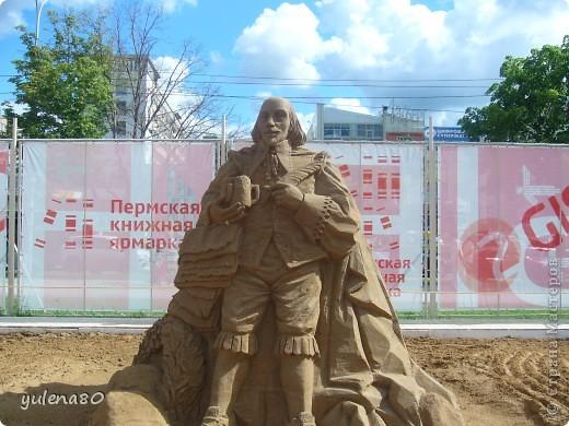 """В июне этого года мы с семьей побывали на фестивале """"Белые ночи"""" в Перми. Предлагаю вашему вниманию серию фотографий с изображением песчаных скульптур. фото 7"""