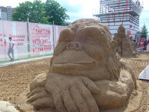 """В июне этого года мы с семьей побывали на фестивале """"Белые ночи"""" в Перми. Предлагаю вашему вниманию серию фотографий с изображением песчаных скульптур. фото 8"""