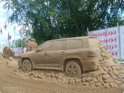 """В июне этого года мы с семьей побывали на фестивале """"Белые ночи"""" в Перми. Предлагаю вашему вниманию серию фотографий с изображением песчаных скульптур. фото 10"""