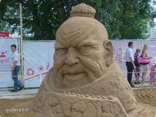 """В июне этого года мы с семьей побывали на фестивале """"Белые ночи"""" в Перми. Предлагаю вашему вниманию серию фотографий с изображением песчаных скульптур. фото 12"""