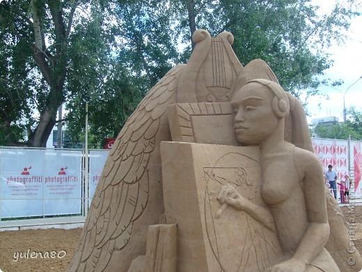 """В июне этого года мы с семьей побывали на фестивале """"Белые ночи"""" в Перми. Предлагаю вашему вниманию серию фотографий с изображением песчаных скульптур. фото 13"""