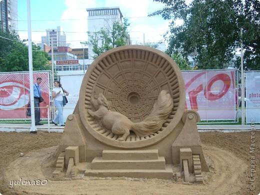 """В июне этого года мы с семьей побывали на фестивале """"Белые ночи"""" в Перми. Предлагаю вашему вниманию серию фотографий с изображением песчаных скульптур. фото 14"""