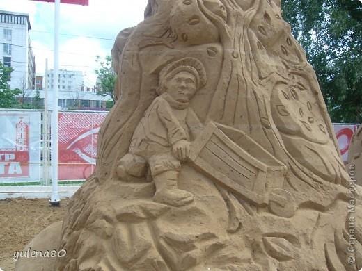 """В июне этого года мы с семьей побывали на фестивале """"Белые ночи"""" в Перми. Предлагаю вашему вниманию серию фотографий с изображением песчаных скульптур. фото 15"""