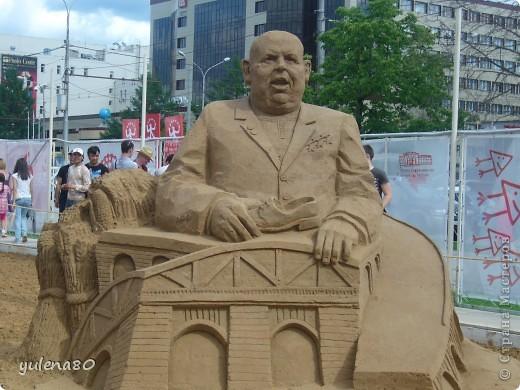 """В июне этого года мы с семьей побывали на фестивале """"Белые ночи"""" в Перми. Предлагаю вашему вниманию серию фотографий с изображением песчаных скульптур. фото 16"""