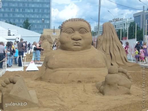 """В июне этого года мы с семьей побывали на фестивале """"Белые ночи"""" в Перми. Предлагаю вашему вниманию серию фотографий с изображением песчаных скульптур. фото 17"""