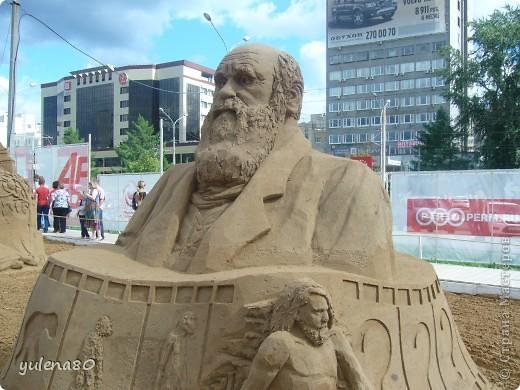 """В июне этого года мы с семьей побывали на фестивале """"Белые ночи"""" в Перми. Предлагаю вашему вниманию серию фотографий с изображением песчаных скульптур. фото 18"""