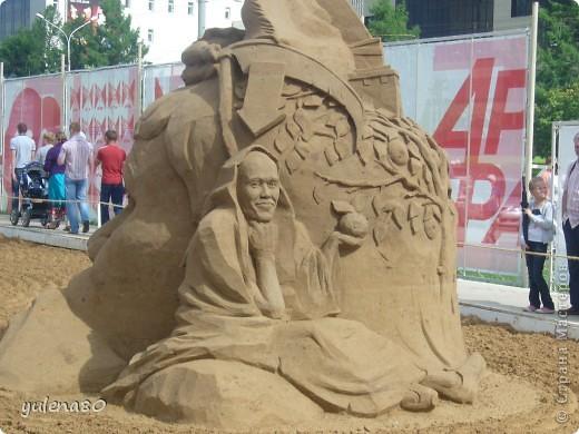 """В июне этого года мы с семьей побывали на фестивале """"Белые ночи"""" в Перми. Предлагаю вашему вниманию серию фотографий с изображением песчаных скульптур. фото 19"""