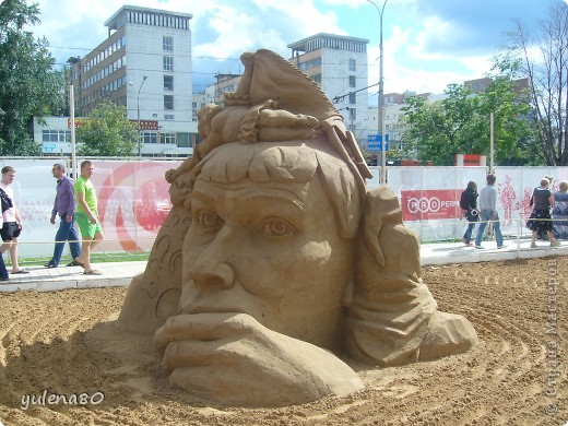 """В июне этого года мы с семьей побывали на фестивале """"Белые ночи"""" в Перми. Предлагаю вашему вниманию серию фотографий с изображением песчаных скульптур. фото 20"""