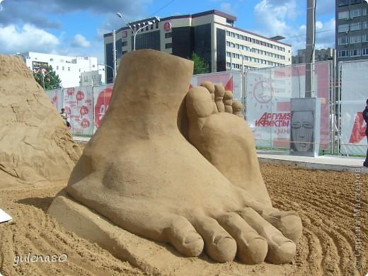 """В июне этого года мы с семьей побывали на фестивале """"Белые ночи"""" в Перми. Предлагаю вашему вниманию серию фотографий с изображением песчаных скульптур. фото 21"""