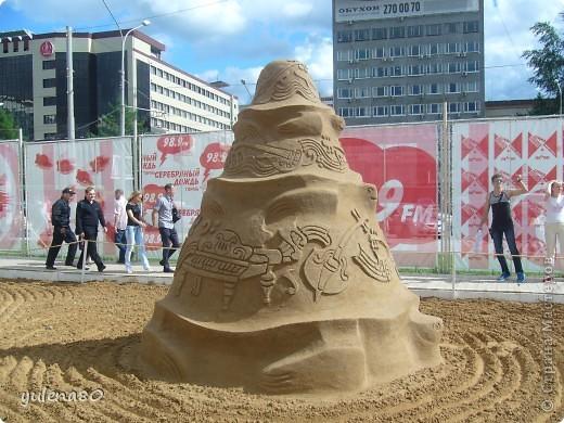 """В июне этого года мы с семьей побывали на фестивале """"Белые ночи"""" в Перми. Предлагаю вашему вниманию серию фотографий с изображением песчаных скульптур. фото 22"""