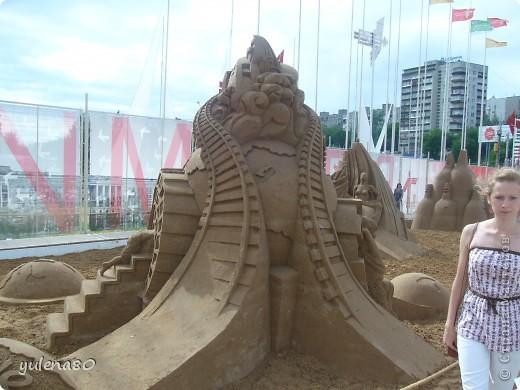 """В июне этого года мы с семьей побывали на фестивале """"Белые ночи"""" в Перми. Предлагаю вашему вниманию серию фотографий с изображением песчаных скульптур. фото 23"""