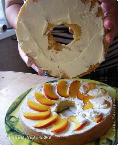 Решили с дочкой попробовать свои силы в изготовлении такого тортика.... Судить вам......    фото 3