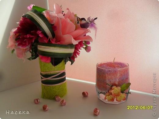 Моя новая свеча насыпная!!! Не знаю точно, но в СМ такие не встречала, так хочется успеть и быть первой, но если уже было, то извиняюсь. фото 2
