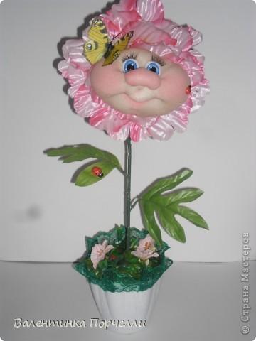 Мои цветочки))))Делала на выставку.Месяц назад.Пиончики фото 2