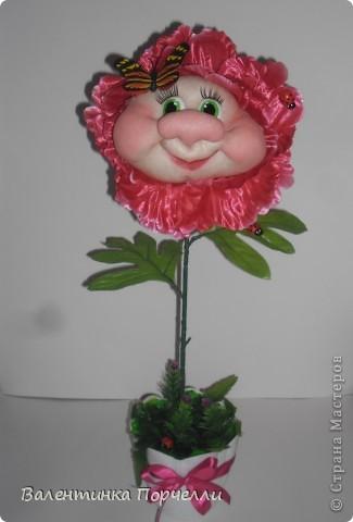 Мои цветочки))))Делала на выставку.Месяц назад.Пиончики фото 5