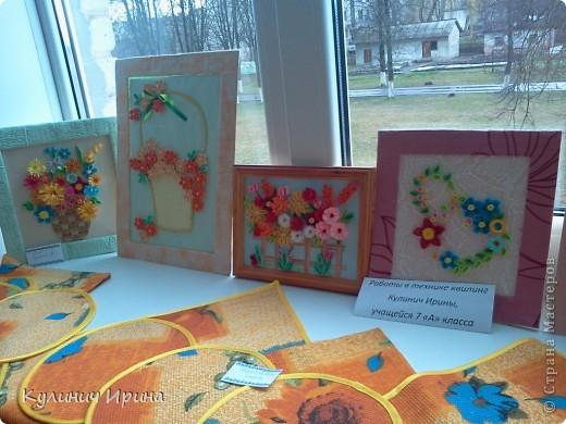 Эти картины на выставке в школе(4) фото 1