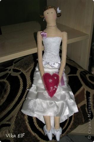 Невеста в стиле Тильда фото 1