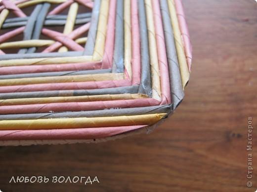 Мастер-класс Плетение Выполняю обещание Трубочки бумажные фото 17