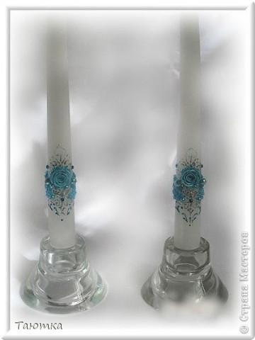 Вот такой набор свечей получился в порыве вдохновения))) фото 2